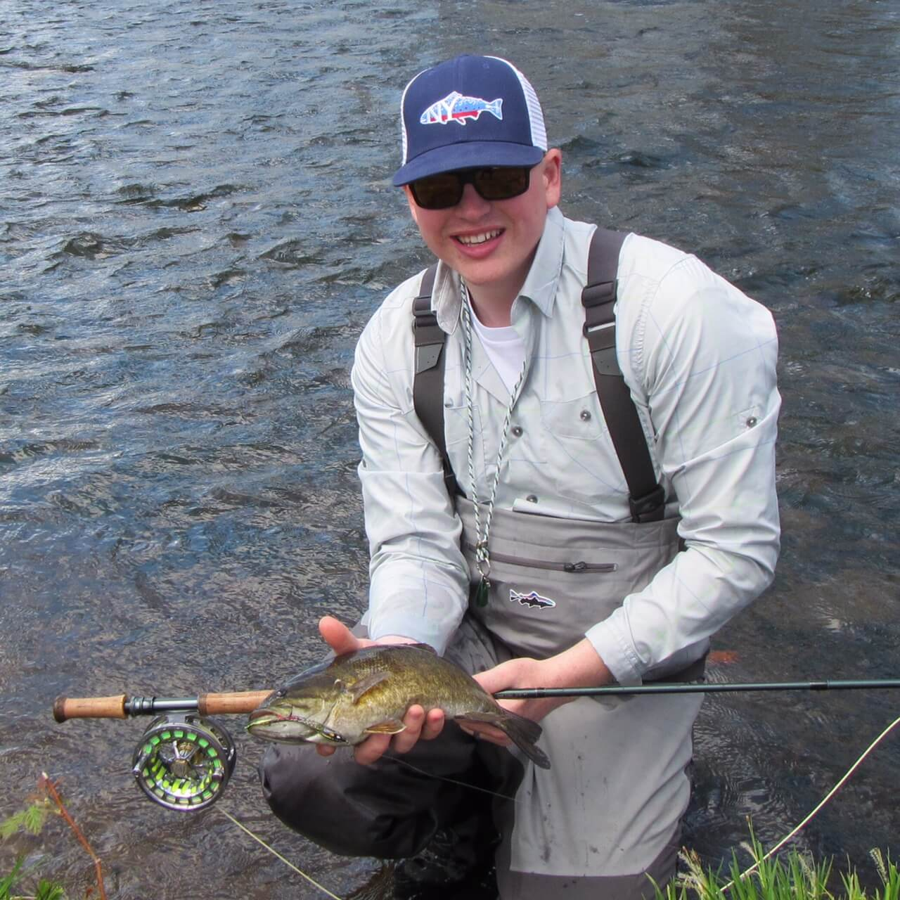 Salmon river smallmouth zero limit adventures for Salmon river ny fishing report